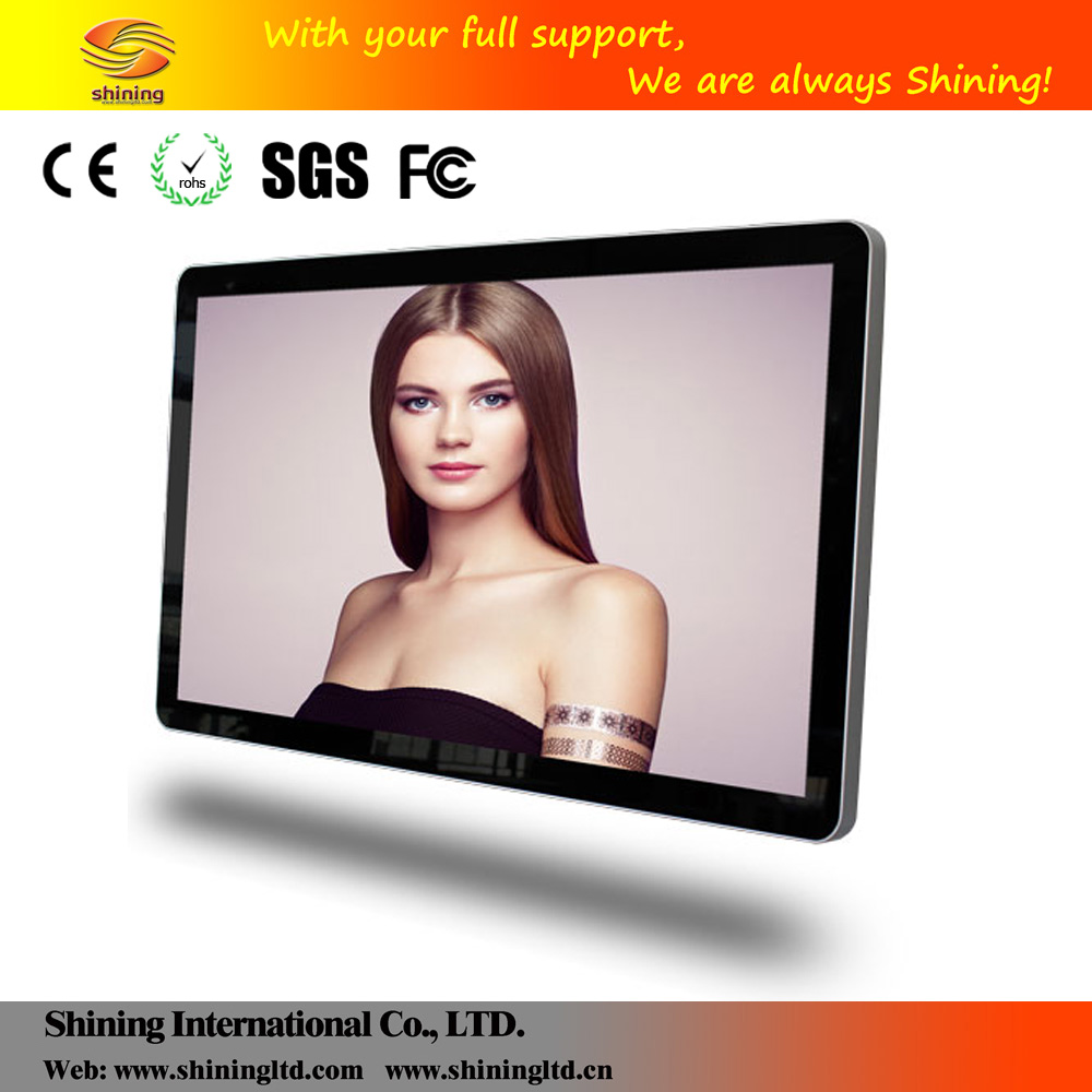 "46"" 55"" Android System Network HD wall mounted POS advertising displays TVs"