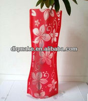 Beautiful wholesale plastic flower tube vase