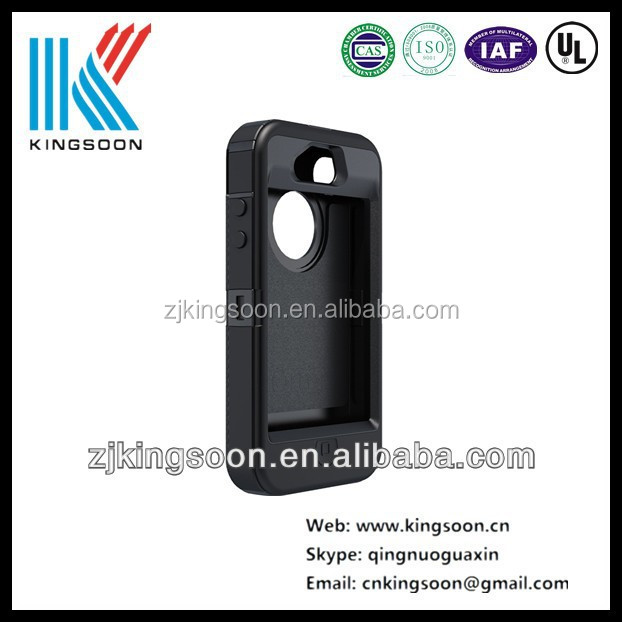 High quality white/green /black mobile phone with metal shell