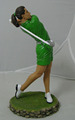 Hot-selling Resin Golf Man Resin Statue Home Decorations