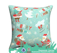 New year good selling promotion cheap square Christmas chair cushions