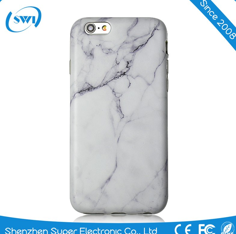 White Onyx Marble style TPU cell phone case cover for iPhone 7 cases,IMD case for iphone 7 PLUS cover