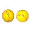 Yellow Color Mini Plastic Baseball Ball