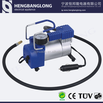 portable car tire inflator pump with CE and RoHs