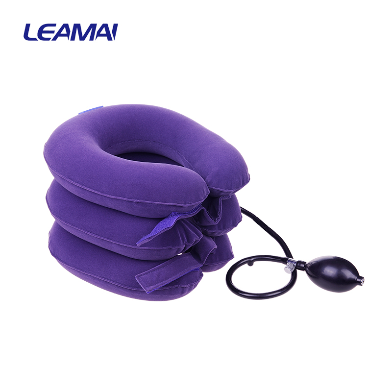 100% quality brace for spondylosis cervical traction belt neck pain help