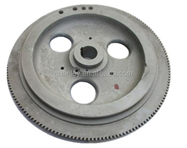 Steel flywheel, cast iron and machining flywheel