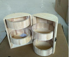 design Your Own Wood Box Barrel DIY Unfinished Trinket/ Jewelry Craft