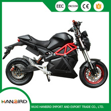 HANBIRD cheap sale electric motorcycle 72 v for high perfomance