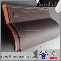 Classic villa clay roof tile