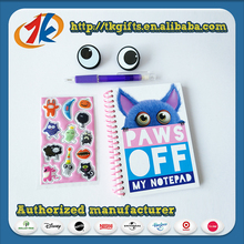 Funny Eco-friendly Stationery Set School With 3D Stickers