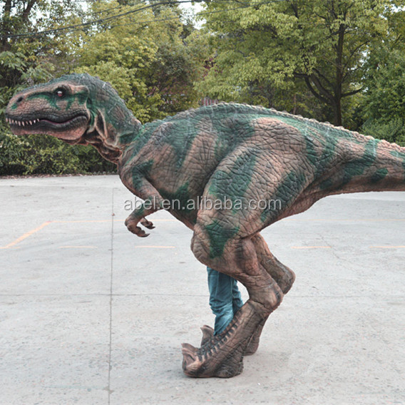 Children Entertainment Park Mechanical Dinosaur Costume