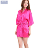 wholesale bathrobe Large Size Sexy Lace Perfect Wedding Bride Bridesmaid Robes Dressing Gown Satin bathrobes women