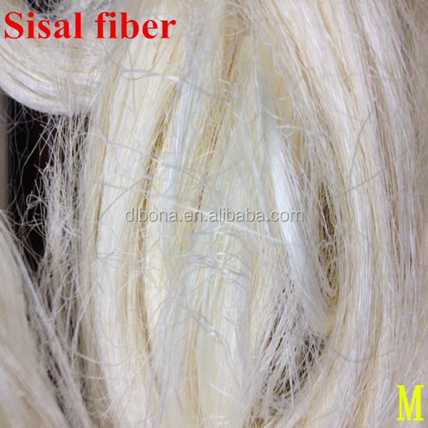 100% Natural white sisal fiber /UG grade sisal fibre for Gypsum Board facotry price