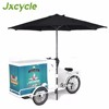 Tricycle Ice cream Bike mobile Freezer & trailer for sale