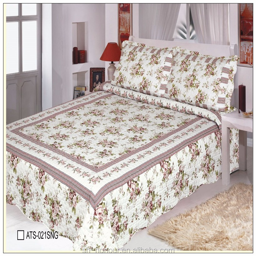 Wholesale quilted king flat sheets ,Hot sale bed spread ,modern bed sheet sets