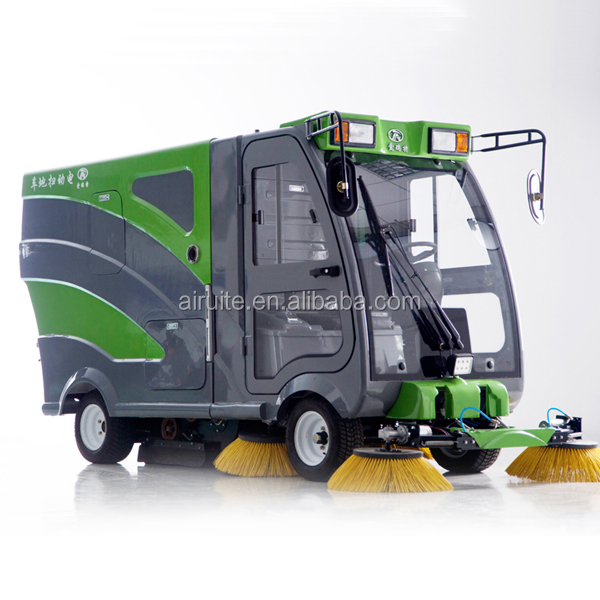 Street cleaning machine with good quality