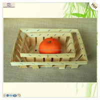 disposable fruits sushi serving place wood veneer tray