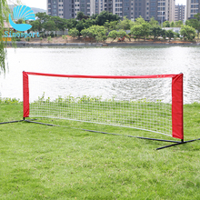 Custom Mini Polyester Practice Badminton Net With Stand