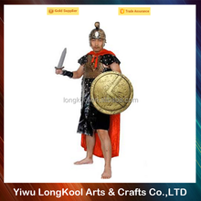 Wholesale best selling masquerade cosplay costume for adult party performance roman soldier costume
