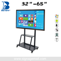 manufacturer cheap OEM LED portable touch screen interactive whiteboard