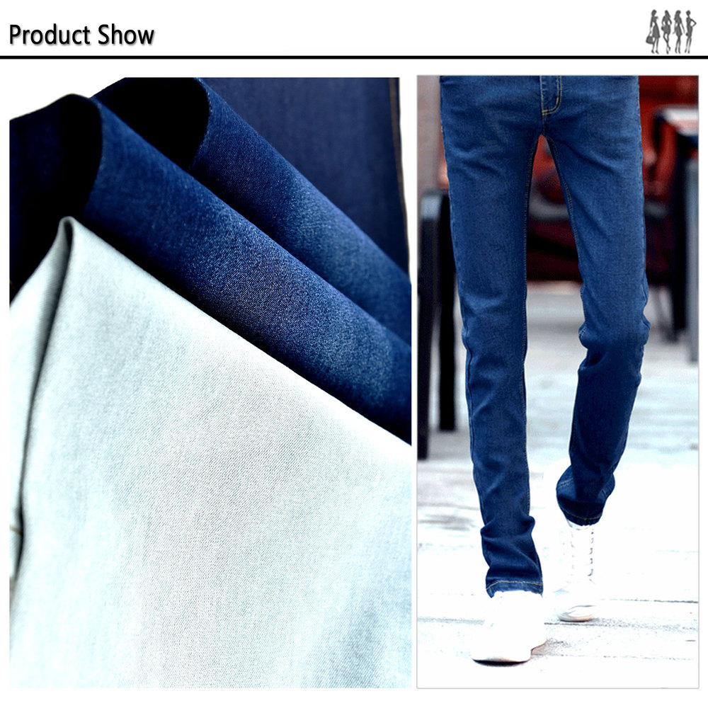 Perfect Stretch heavy cotton twill fabric for pants