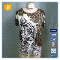 Leopard Printed Pregnant Woman Blouse Casual Top