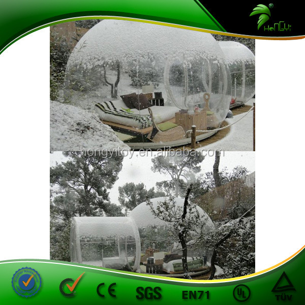 Luxury Bauhaus Camping Glamping Tent/Bubble Tent/Transparent Tent