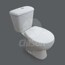 China Cheap Ceramic Two Piece Toilet Sanitaryware for Greece