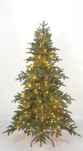 Luxury high class pre-lit artificial christmas tree