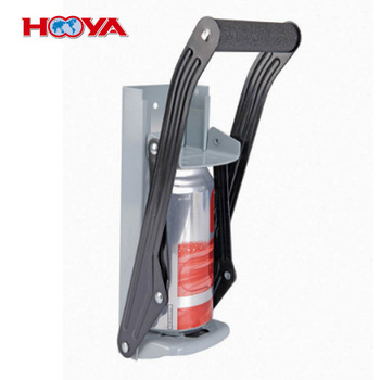12oz can crusher Iron Plate Wall Mounting Hand with bottle opener