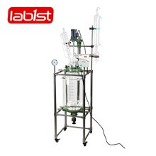 Double layer Jacket Glass Lined Reactor price for University Laboratory