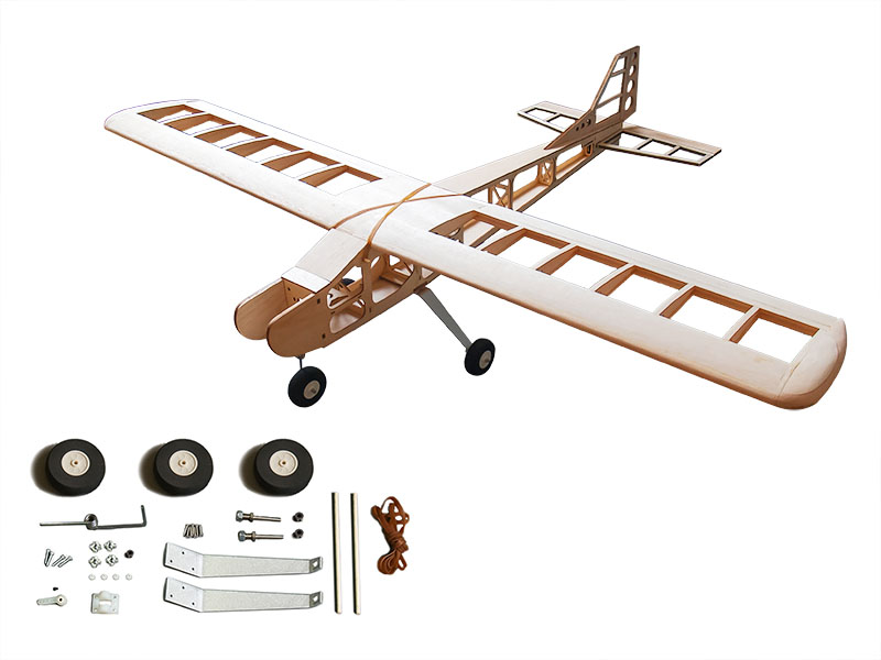 EWT4-01A T-40 Balsa KIT 1600mm WOOD MODEL PLANE KIT Laser Cut Balsa Kit