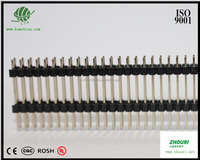 KSM 2.54mm 2*40 pin double layer and double stitch length 23mm row male pin header electronic connector