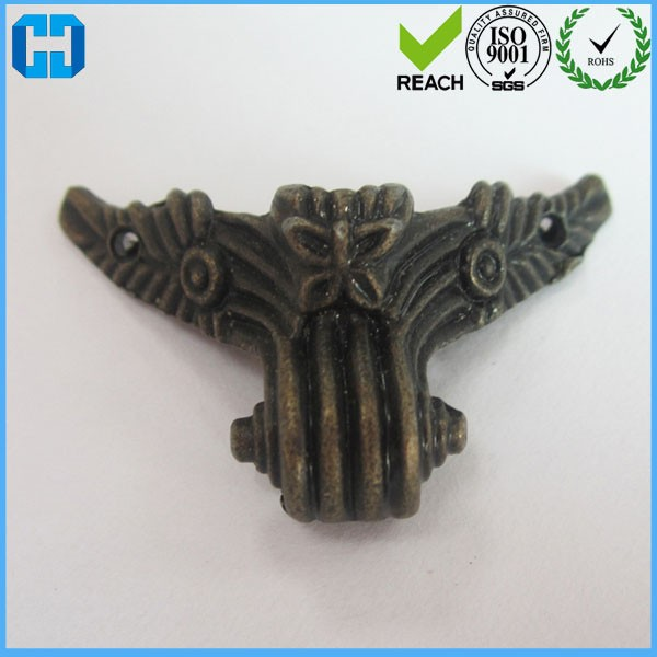 Decorative Feet Leg Metal Corner Protector For Wholesale In China