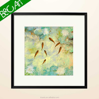 Classical Goldenfish Sample Picture Of Canvas Painting