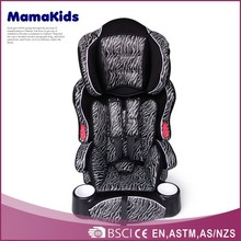 Fashion baby car chairs 2015 wholesale foldable safety car child seat