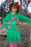 Wholesale Children customizable Christmas girls Clothing Sets new Christmas any other colour boutique girls clothing sets