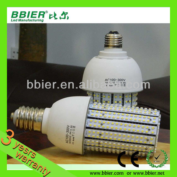 Bbier AC100-300V 360degree 30w 20w led corn bulb e27