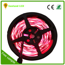 Holiday decoration SMD5050 IP65 soft rgb smd 3258 led flexible strip
