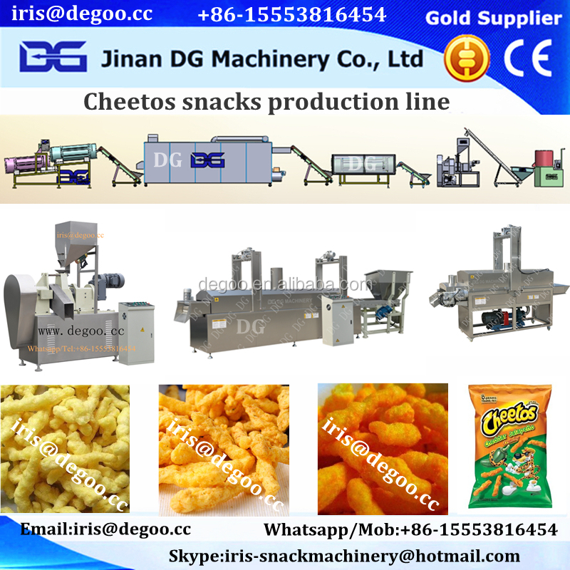 Corn Stick /Cheese Ball /Curls Plant Machine/Production Line