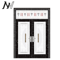 modern house different steel gate designs new building construction materials frame metal exterior glass door