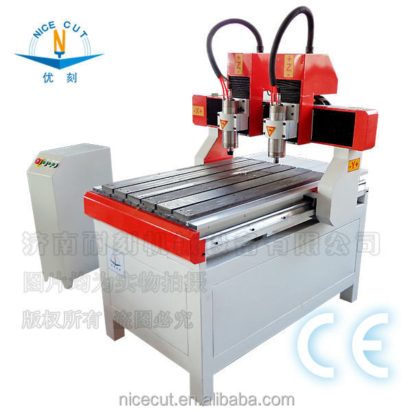 Nice-Cut Factory direct sale! big discount hot sale wood cnc router machine/cnc 6040 4 axis