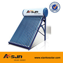 Solar energy product Non pressure solar water heating system