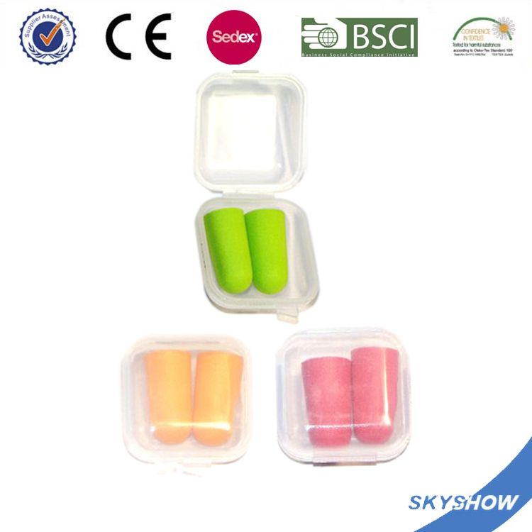 China supplier Custom design comfortable pu foam ear plug