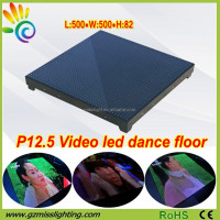Hot Sale product P12.5 Illuminated led video dance floor for disco / club /stage