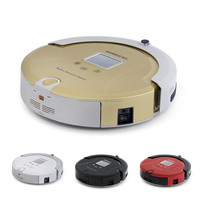 C561 Time Scheduling Intelligent Low Noise High Suction Power UV Robot Floor Cleaning Vacuum