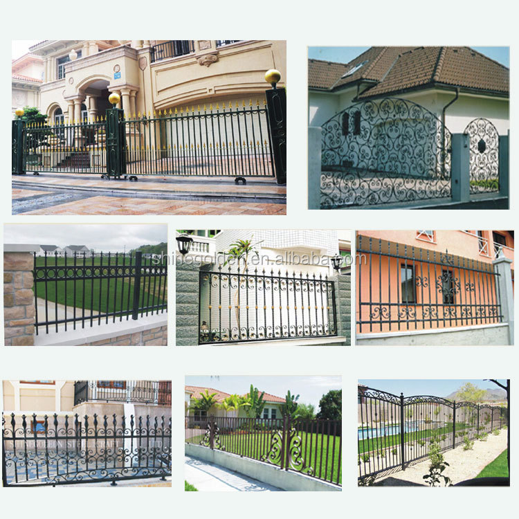 New Design iron Balcony safety gate& Fence SG-15F001