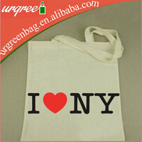 I love NY New york Canvas Shoulder hand Tote Bag