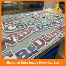 Custom Die Cut Shapes PVC paper faced on foam board to