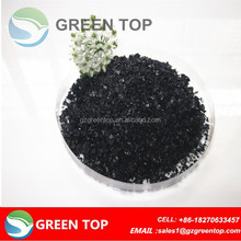 Potassium salts of humic acids for oil plam growth